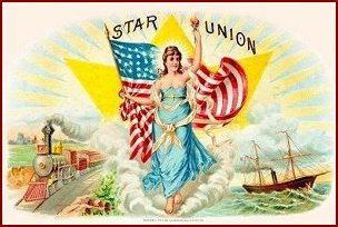 Star Union cigar label