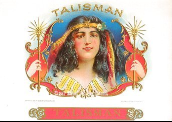 Talisman inner cigar label