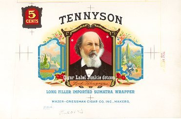 Tennyson inner cigar label