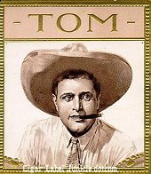 Tom cigar box label