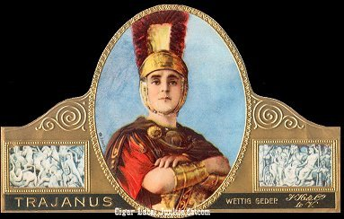Trajanus seal cigar label