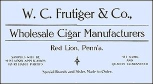 cigar label art card